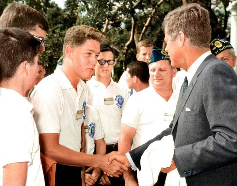 A-16-year-old-Bill-Clinton-meeting-John-F.-Kennedy-at-the-White-House