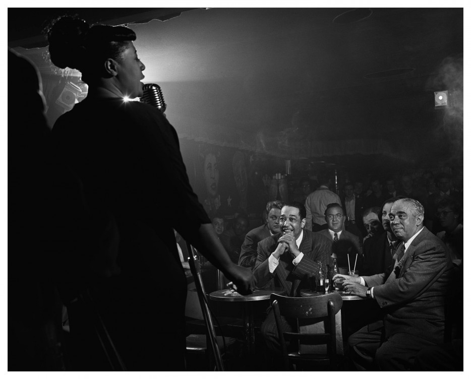 Ella Fitzgerald sings for Duke Ellington and Benny Goodman [1948]