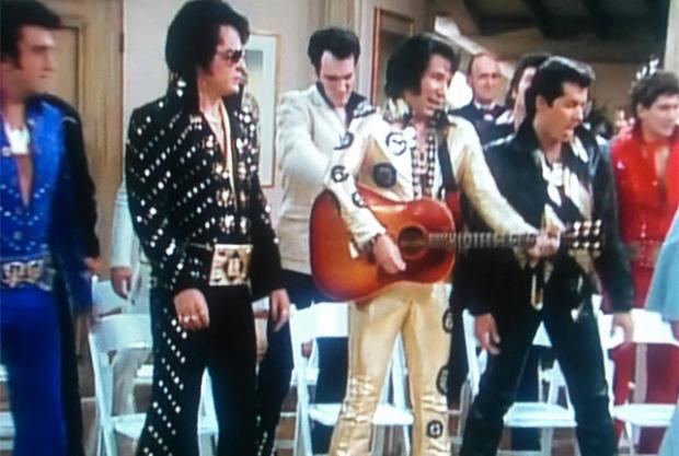 Quentin Tarantino played an Elvis impersonator on The Golden Girls.